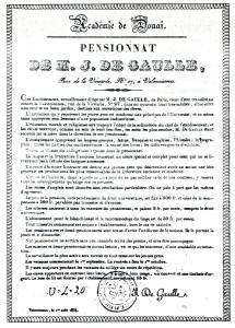 Julien Philippe de Gaulle Valenciennes