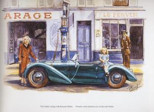 Garage Le Penven dessin de Bucciali