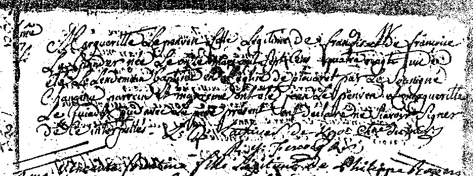Margueritte LP 11:5:1781